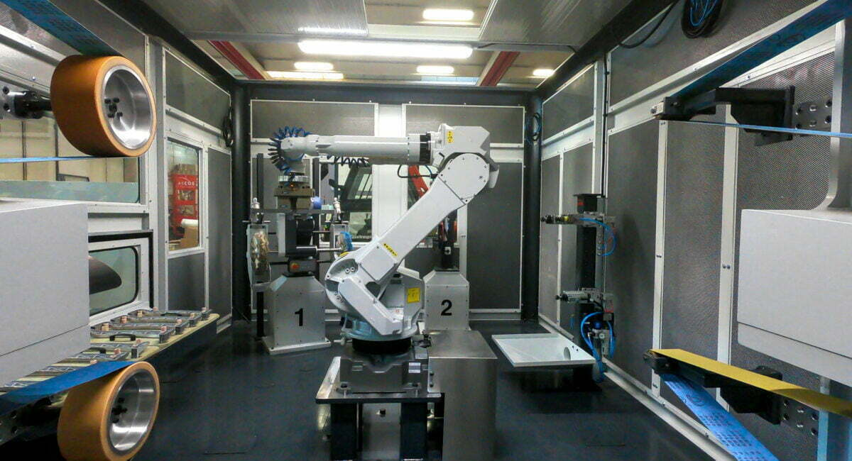 Robotic Grinding Automation: halve the production times with Arcos