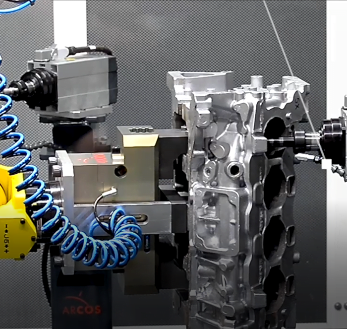 sbavatura robotizzata